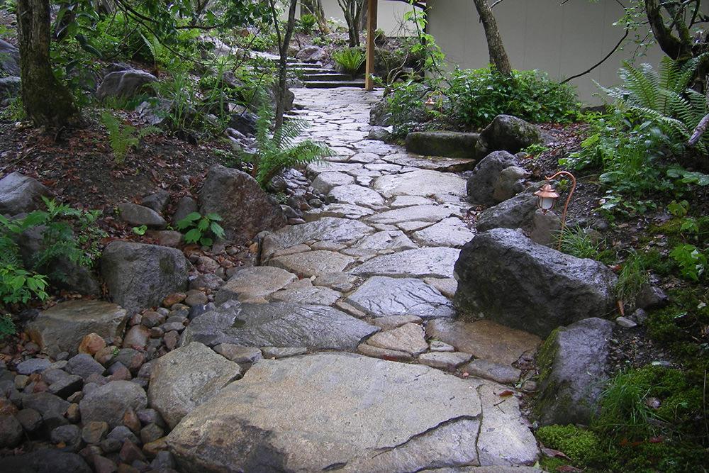 門造園土木 施工事例 森の宿