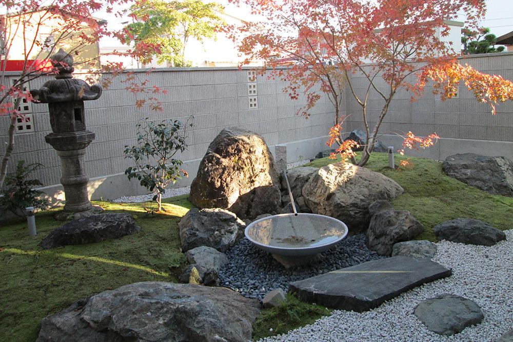 門造園土木 施工事例 モダン和風な庭