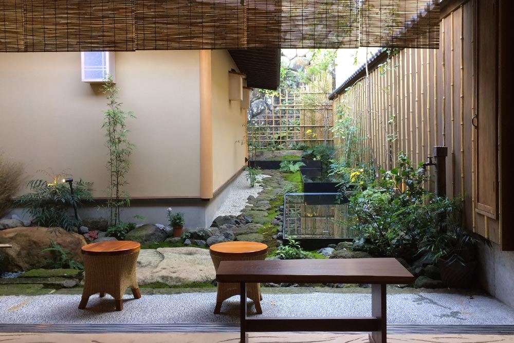 門造園土木 施工事例 水景の坪庭