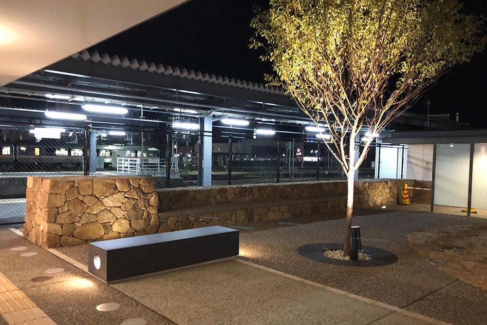門造園土木 施工事例 高山駅